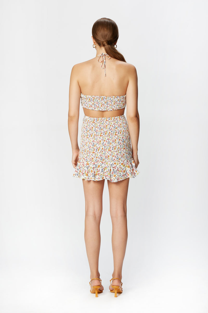 Eva Mini Skirt (Spring Garden)
