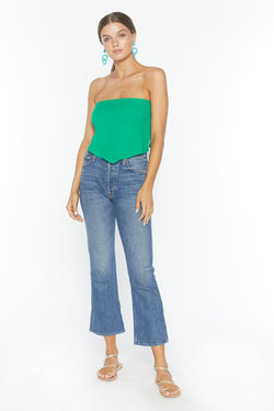 Banx Crop (Green Gauze)