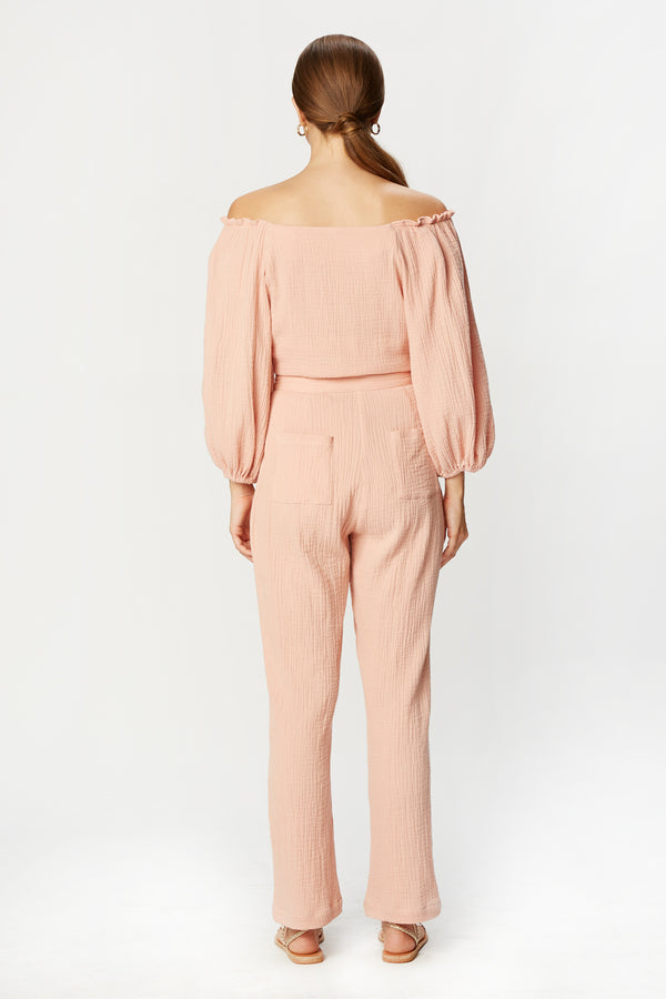 Tiff Top (Blush Gauze)
