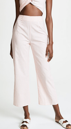 Parker Pant (Rose Stripe)