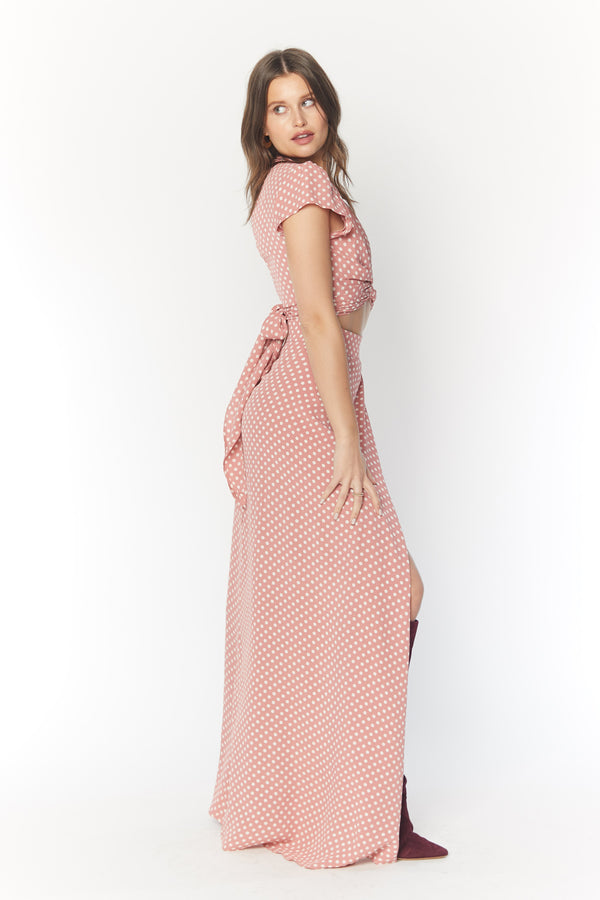 All Wrapped Up Maxi (Parisian Polka)
