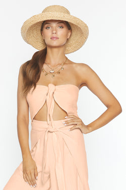 Banx Crop (Blush Gauze)