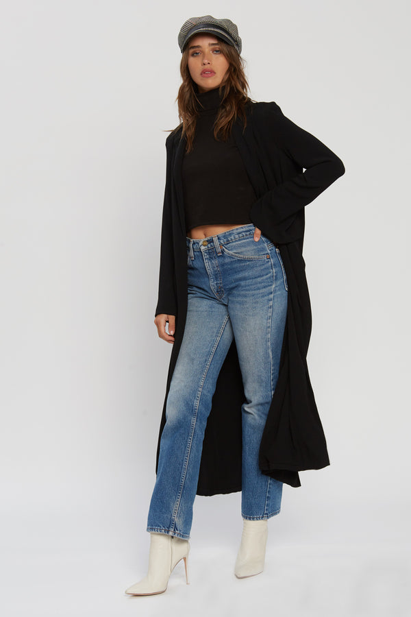 Athena Duster - Black