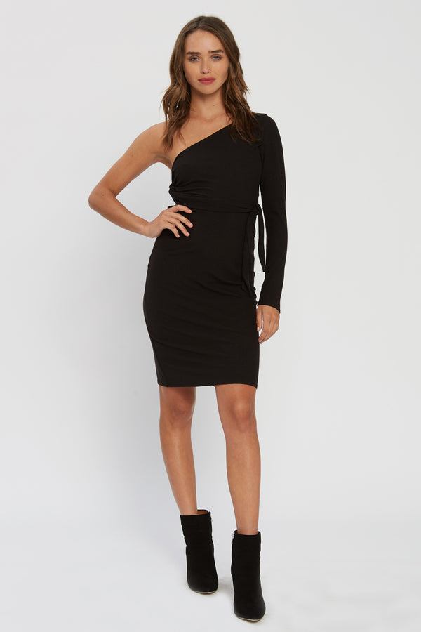 Bliss Dress - Black Rib