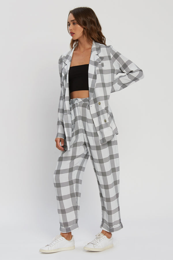 Jayla Jacket - Cute In Checks