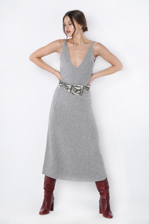 Kelly Tank (Grey Knit)