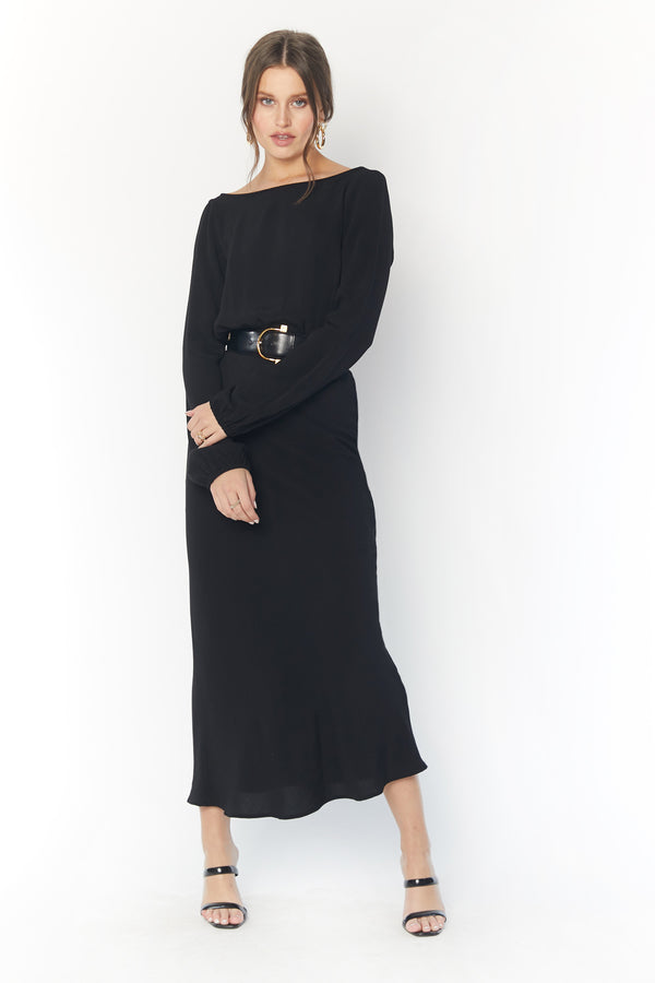 Mabel Midi (Black)