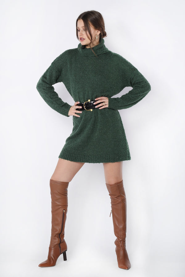 Marty Mini (Green Knit)