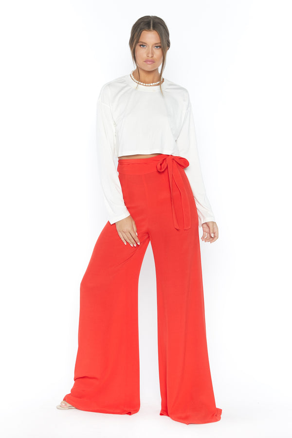 Penelope Pant (Red Pepper)