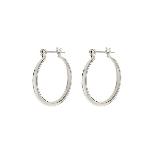 LUV AJ - Baby Lucca Hoops - Silver
