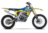 Autotrader/Yoshimura/Suzuki Factory Race Team Kit for RM-Z450