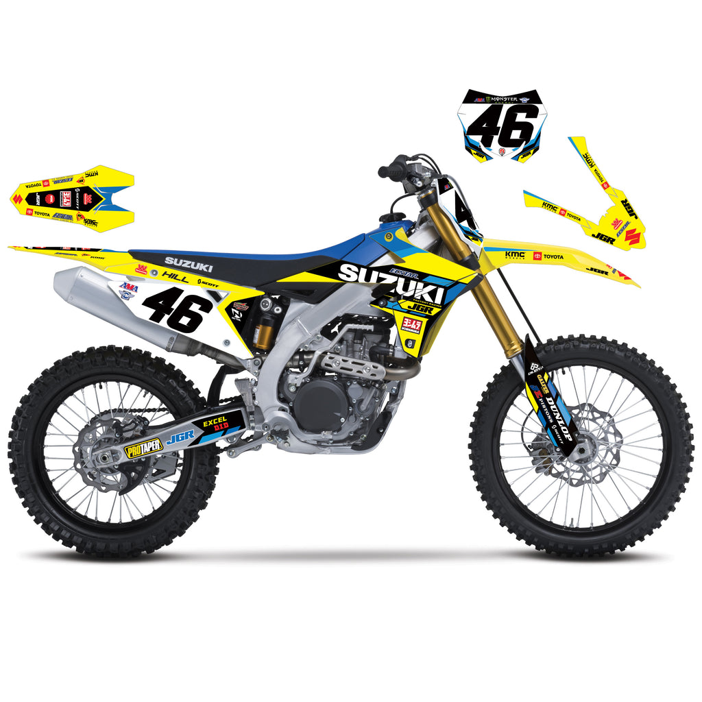 JGRMX/Yoshimura/Suzuki 2019 Supercross Team Graphics Kit