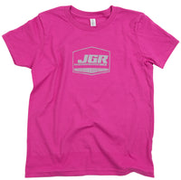 Vintage Youth Girls Joe Gibbs Racing Tee front