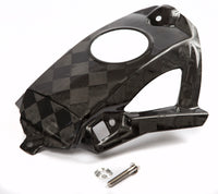 Honda Checkered Carbon Fiber Fuel Tank Cover