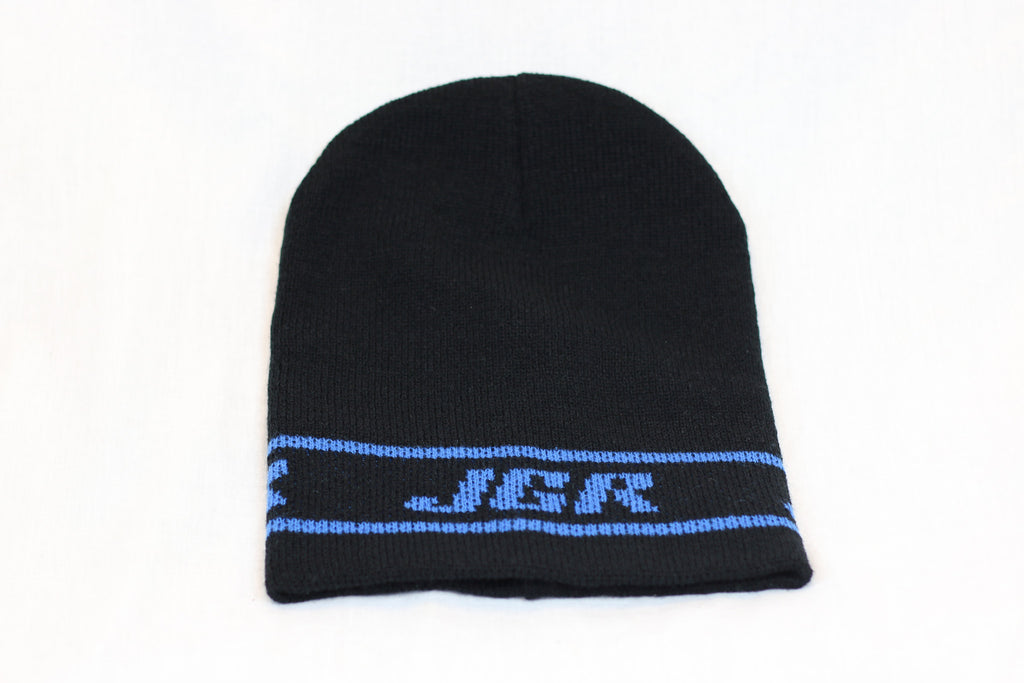 JGRMX Black and Blue Beanie