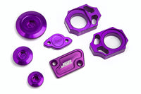 JGRMX Yamaha YZ250F/YZ450F Hard Parts Purple Kit