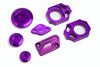 Yamaha Four-Stroke Hard Parts Purple Kit
