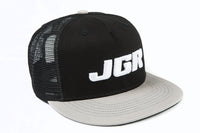 JGRMX gray trucker hat