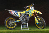 2020 JGRMX/Yoshimura/Suzuki Factory Racing Supercross Graphics Kit