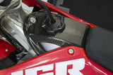 JGRMX Honda CRF450R carbon fiber fuel tank cover on bike left side