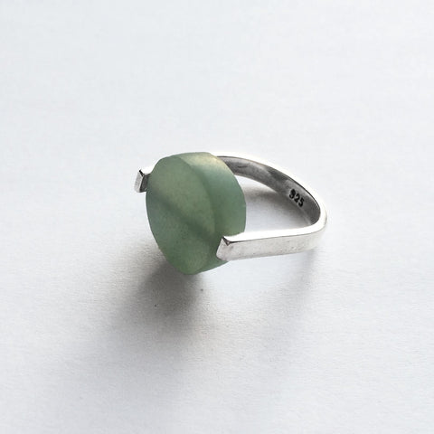 Frameless Jade Ring