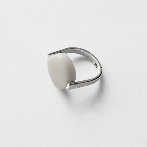 Frameless Marble Ring