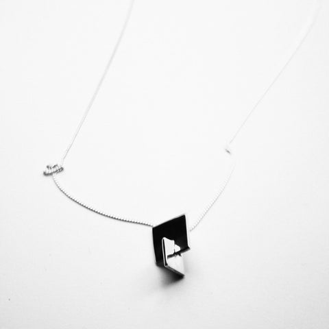Square Interlocked Pendant
