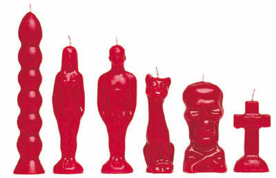 Figure Candles-Not just for putting whammys!