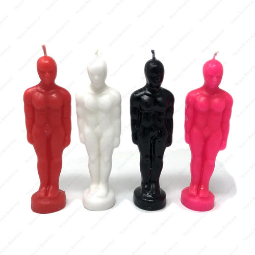 Male  Figure Candle