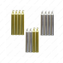 Load image into Gallery viewer, Chime Candles-Gold & Silver