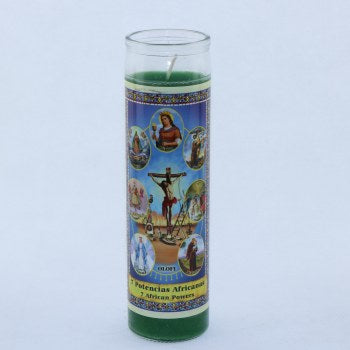 7 African Powers Candle