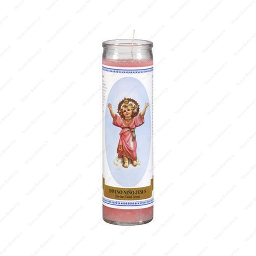 Divine Child Of Jesus/Nino Divino Candle