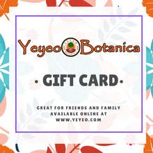 Load image into Gallery viewer, Yeyeo Botanica Gift Card
