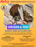 Orisha and You Class 6-16-2019