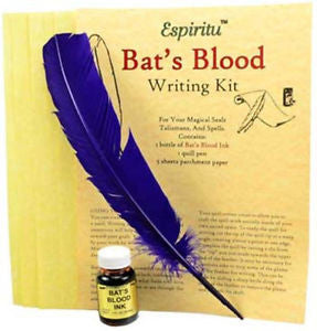 Bats Blood Writing Kit