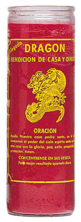 Lucky Dragon Candle