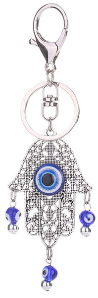 Fatima Hand with Evil Eye Keychain