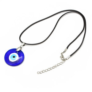 Evil Eye Glass Pendant