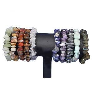 Gemstone-Crystal Bracelets Assorted Stones