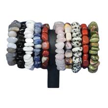 Load image into Gallery viewer, Gemstone-Crystal Bracelets Assorted Stones