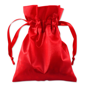 Satin Pouches Assorted Colors