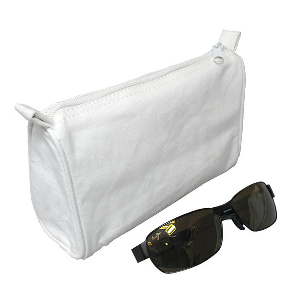 White Cotton Travel Bag