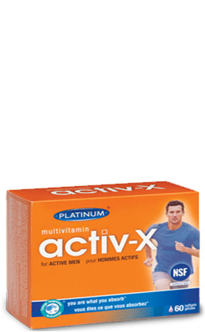Platinum Naturals ActivX for Men
