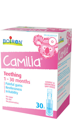 Boiron Camilia (for teething)