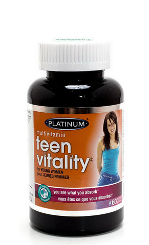 Platinum Naturals Teen Vitality for Young Women