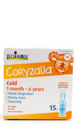 Boiron Coryzalia for Children