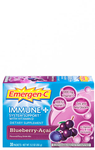 Emergen-C Immune Plus Blueberry & Acai