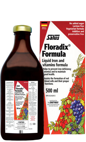 Floradix Herbal Iron Supplement