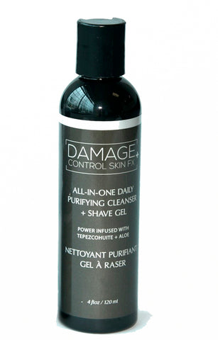 LaVigne Men's Damage Control - Cleanser & Shave Gel