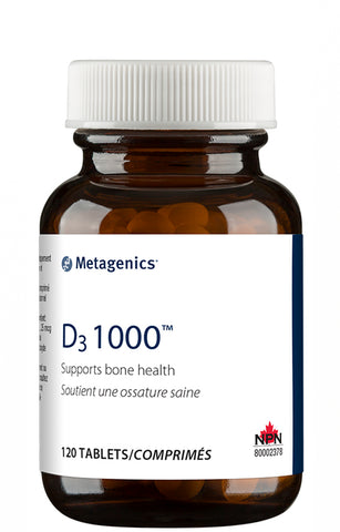 Metagenics Vitamin D3 1000mg